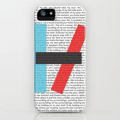 Twenty One Pilots Lyrics iPhone & iPod Case