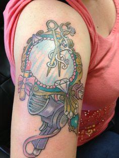 Hairstylist tattoo <3