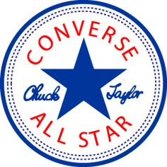 Vote the Converse All Star logo Converse All Star, Converse Logo, Converse Classic, Converse Sneakers, Converse Wallpaper, Road Texture, Fitness Tattoos, Star Logo, Clothing Logo
