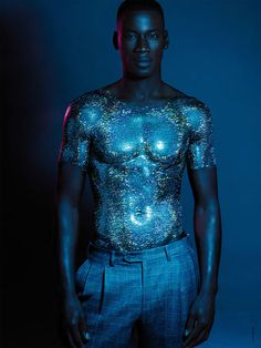 glitter editorial - David Agbodji stars in Antidote magazine's chromatic glitter editorial for the Fall/Winter 2014 season. The top model is captured by photogra. Georges Hobeika, Glitter Photography, Fashion Photography, Elie Saab, Laetita Casta, Christian Dior, Glitter Tumblr, Simon Nessman, Guinevere Van Seenus