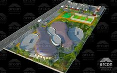Sports Complex in Lahore, Pakistan Designed by Arcon Associates