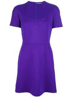 ALEXANDER MCQUEEN - fitted A-line dress 6