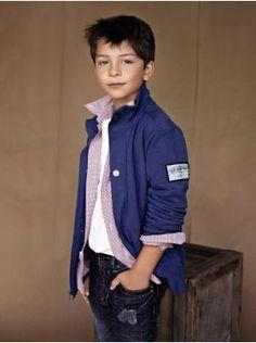 Kids Clothing: Boys Clothing: New Denim Looks New: Action Stretch Denim | Gap
