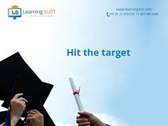 Every achievement starts with the decision to try. Try with #learningslot and reach your destination. http://www.learningslot.com/it-courses-online-training.html