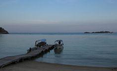 Sunset at the Redang Kalong Jetty | Redang Island, Malaysia