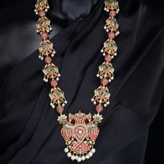 Temple Jewellery Necklace Collection from Kalasha Jewels www.addiga.com