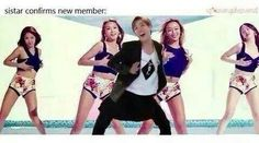 CAN'T STOP LAUGHING OMFG J-Hope the new member of Sistar xD