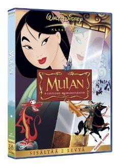 Walt Disney Klassikot Mulan DVD 5,00€