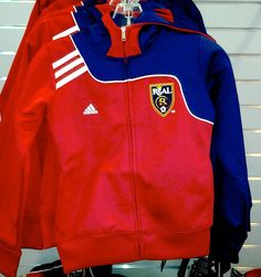 464a8f84c88 Youth Charger Full Zip Hoodie. $45. Polyester blend. Colors available: As  shown. OUT OF STOCK. Real Salt Lake Team Store