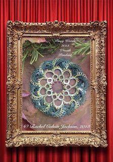 The Piney Woods Tatter: Piney Woods 2013 Wreath Pendant FREE Pattern