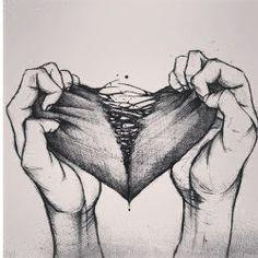 sad break up draw