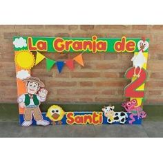 cumpleaños infantil adornado de la granja de zenon - Buscar con Google Farm Animal Party, Farm Animal Birthday, Farm Birthday, Farm Party, Boys First Birthday Party Ideas, Leo Birthday, Kids Party Themes, Birthday Party Themes, Party Fiesta