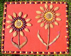 Márton-nap :: Óvoda Fall Crafts For Kids, Spring Crafts, Art For Kids, Diy And Crafts, Toddler Art Projects, Projects For Kids, Seed Art, Bricolage Halloween, Bible School Crafts