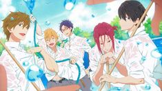 free!<<< Rin, why you gotta give us the smolder