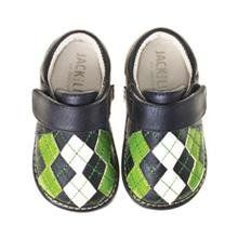 Amazon.com: Jack and Lily Navy Argyle Baby Shoes: Shoes