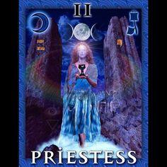 #throwbackthursday - the Priestess part of my Tarot card project I've been working on for a very long time! . . . . . . . . . . . . . . . . . . . #photoshop . . . . . . . . . . . #mystical  #mythology  #newage  #magik  #kabala  #qabala  #tarot  #tarotcards