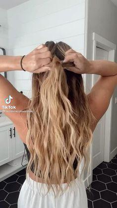 Work Hairstyles, Easy Hairstyles For Long Hair, Summer Hairstyles, Hairdos, Hair Extension Hairstyles, Beach Hairstyles Medium, Cute Everyday Hairstyles, Cute Hairstyles For Teens, Hairstyles Pictures