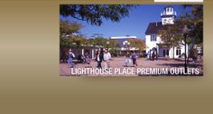 Lighthouse Place Premium Outlets - Jill and I love this place!