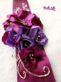 Püspüklila öv (S) Purple Wedding, Band, Accessories, Fashion, Moda, Sash, Fashion Styles, Fashion Illustrations, Bands