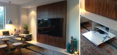 Hideaway Office and Media Wall Unit