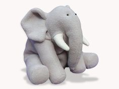 Funky Friends Plush Patterns DIY ELEPHANT Plush Toy Pattern