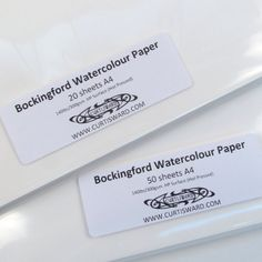 From 7.99 Bockingford Artists Hot Pressed Watercolour Paper A4 Pack 20 Sheets 300g Curtisward Pack
