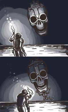 Giant Spooky Dark Souls 3 Skull by Rezuaq on DeviantArt