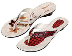 940792c35e8 Indistar Womens Krocs Flip Flop Pack Of 2 Pairs 8 BrownBrown    For more  information