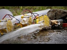 Free Energy from Stream , Micro hydro turbines. | DIY | - YouTube