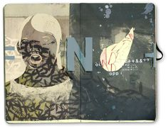 Sketchbook // Illustrator Bryce Wymer - http://brycewymer.blogspot.com/