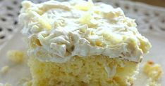 Ingredients Cake: 1 box yellow cake mix 4 eggs cup oil (I used vegetable oil) 1 oz) can crushed pineapple with juice Frosting: 1 oz) container whipped topping, thawed 1 small box instant vanilla pudding 1 oz) can crushed pineapple with juice Instructions Pineapple Sunshine Cake Recipe, Pinapple Cake, Pineapple Pudding, Easy Pineapple Cake, Pineapple Desserts, Pineapple Cream Cake Recipe, Pineapple Dream Cake, Cake Recipes, Dessert Recipes
