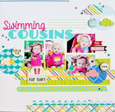 Ginger Williams's Gallery: Swimming Cousins