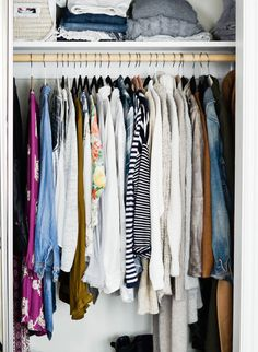 While I've talked about the capsule wardrobe before and have even cleaned out my closet on multiple occasions, I've never gone through the process of creating my very own capsule wardro…