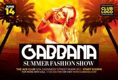 """Plantilla PSD gratis """"Summer Fashion"""""""