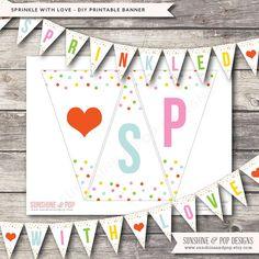 Super Ideas baby shower banner wording first birthdays Sprinkle Shower, Sprinkle Party, Baby Sprinkle, Baby Shower Cakes For Boys, Baby Shower Themes, Baby Boy Shower, Baby Showers, Fiesta Baby Shower, Baby Shower Signs