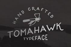 Tomahawk – Vintage Font #bigbundle #graphicbundle #customfonts #logos