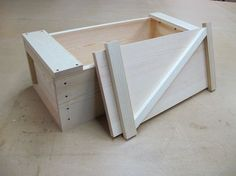 This tutorial shows you how to make a Japanese toolbox with a common design and an interesting lid that latches in place in a simply clever way.