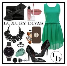 """Luxury Divas"" by amra-sarajlic ❤ liked on Polyvore featuring Victoria Beckham, BERRICLE, Olivia Burton and LUXURYDIVAS"