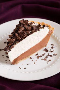 French Silk Pie {AKA Chocolate Lovers Dream Pie} - Cooking Classy