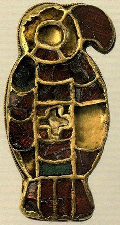 Bird brooch, Museo Archeologico Nazionale di Cividale del Friuli