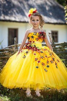 Купить бальное детское платье новосибирск