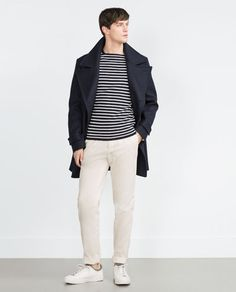 ZARA - COLLECTION SS16 - STRIPED SWEATER