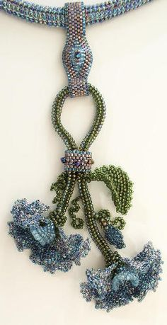 Linda Richmond Downloadable Beadweaving Patterns - Page One