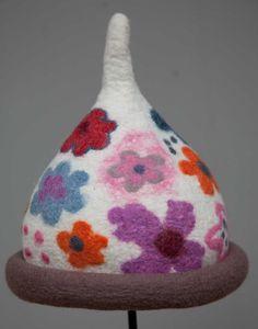 handmade felt hat - pure wool $68 @Melissa Woolsey