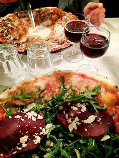 Meilleures pizzas de Rome chez Da Baffetto �WC