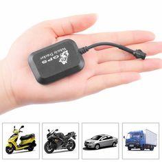 Mini GPS GPRS GSM Tracker SMS Network Bike Car Motorcycle Monitor GPS Locator