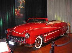 """David Lee Roth's customize 1951 Mercury convertible (pictured below) is the car in question in Van Halen's """"Panama,"""" but, like many rock songs, the lyrics aren't as literally as they seem. Although the song is about a car, Roth told Howard Stern it was also about a stripper he met in Arizona. Why are we not surprised?"""