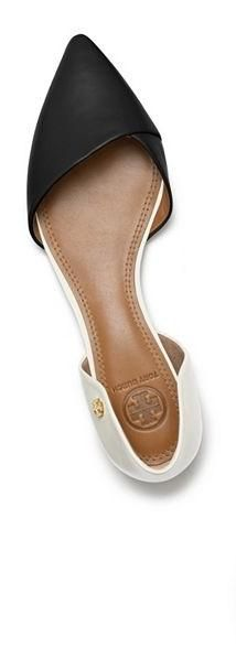 Tory Burch Viv Flat | if I have to wear flats I want them to be cute like these.
