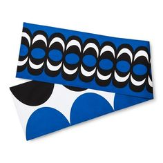 Marimekko for Target Reversible Table Runner - Kaivo & Harka Print - Blue