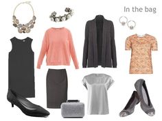 Packing: Peach scarves and delicious tee shirts   The Vivienne Files 3-13